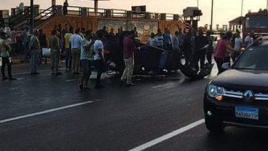 صورة مصرع شخصين وإصابة اثنين في حادث بالاسكندريه
