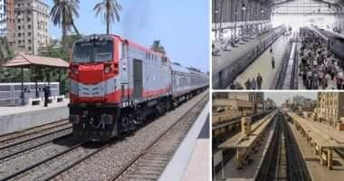 صورة السكة الحديد: تصادم قطار بصدادات محطة نجع حمادى وإجراء تحليل مخدرات للسائق