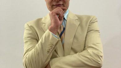 صورة المستشار عمر الفولي يهنىء ابن مركز ديرمواس المستشار محمود عبد الحميد لتوليه منصب جديد