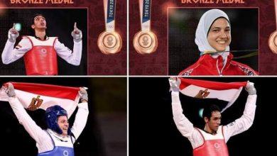 صورة «5 آلاف دولار» .. مكافأة اللجنة الأوليمبية للثنائي المصري