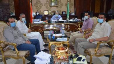 صورة محافظ المنيا يلتقى مع عدد من نواب البرلمان لبحث المشكلات بمختلف القطاعات الخدمية