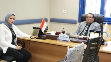 صورة تهنئة للدكتور أحمد جمال لتكليفه بمنصب جديد
