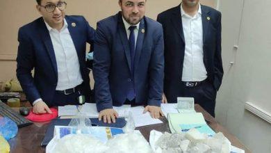 صورة ضبط محاولة تهريب كمية من مخدر الايس بجمارك مطار القاهرة