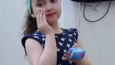 صورة تهنئة السندريلا ( آن ديڤيد لبان ) بعيد ميلادها السادس