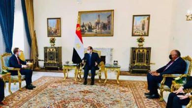 صورة السيسي يستقبل وزير خارجية التشيك بالقاهرة