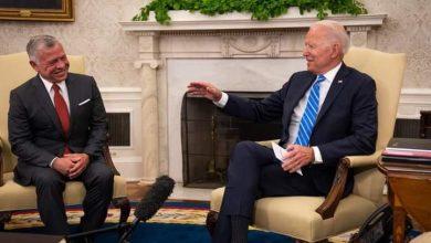 صورة رئيس منظمة الحق: ملك الأردن وأول زعيم عربي يلتقي بـ جو بايدن