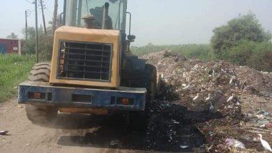 صورة المعداوى يوكد على إستمرار حملات النظافة على مجلس قروى بنى غنى بسمالوط