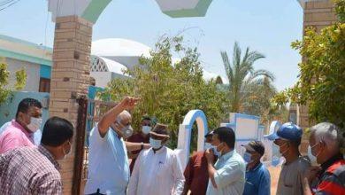 صورة محافظ الوادي الجديد يتفقد جمعية تنمية المجتمع بقرية البشندي