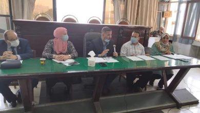 صورة الأمومة والطفولة بمدينة المنيا والقومي للمرأة والتربية والتعليم يعقدون اجتماع لجنة حماية الطفل