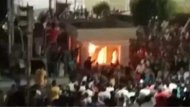 صورة ماذا فعل أهالي ضحايا أمين الشرطة بمحافظة القليوبية