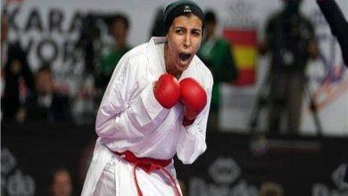 صورة المصرية جيانا فاروق تحصد الميدالية البرونزية في الكاراتيه بأولمبياد طوكيو 2020