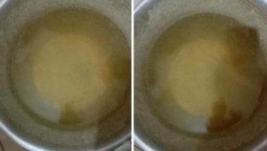 صورة تلوث مياه الشرب بديرمواس يشير إلى كارثة