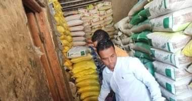 صورة ضبط مواد غذائية مجهولة المصدر خلال حملة على أسواق أسوان