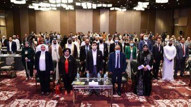 صورة وزير الشباب والرياضة يشهد احتفال الشباب العربي باليوم العالمي للشباب