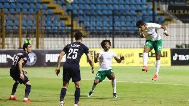 صورة المصري يخطف الثلاث نقاط أمام بيراميدز بعد ضمان التأهل للكونفدرالية