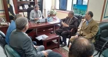 صورة 14طالبا من الفيوم يؤدون امتحانات الشهادة الإعدادية فى بنى سويف