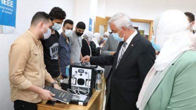 صورة رئيس جامعة المنوفية يشهد الملتقى التوظيفي الأول لكلية تكنولوجيا العلوم الصحية التطبيقية