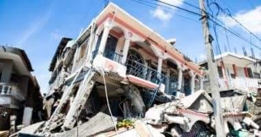 صورة اللحظات الأولى للدمار الذي سببه زلزال هايتي