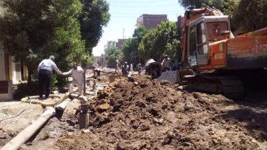 صورة حملة نظافة مكبرة داخل قرى المدامود وقبلي وبحري في الأقصر