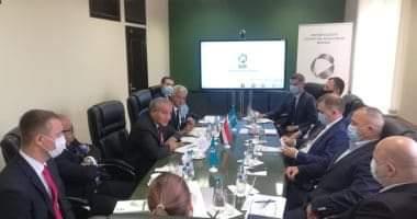 """صورة """"التموين"""" تبحث تبادل الخبرات فى البورصة السلعية مع بيلاروسيا"""