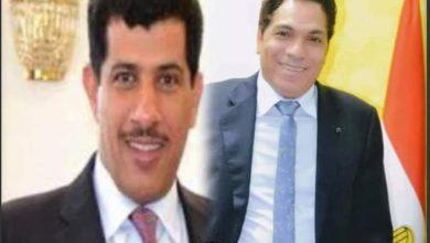 صورة ترحيب حقوقي بوصول سفير قطر الجديد إلى مصر سالم مبارك آل شافي