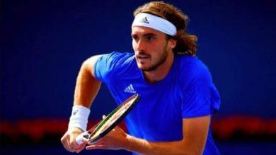 """صورة نجم التنس """"ستيفانوس تسيتسيباس"""" لن يتلقى لقاح كورونا"""