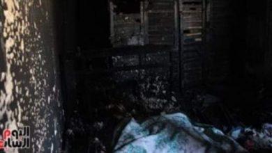 صورة العثور على جثة بمدخل أحد المنازل