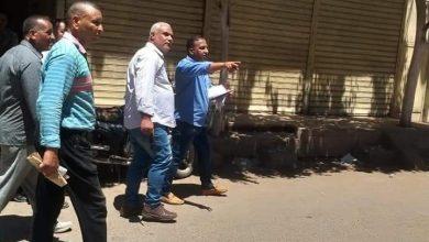 صورة حمله مكبرة لرفع الإشغالات بشوارع ديرمواس