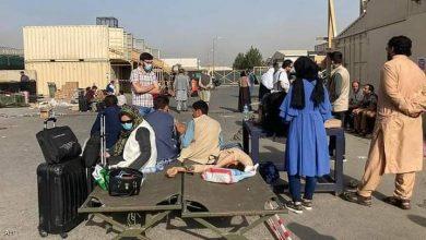 """صورة فوضى مطار كابل مستمرة.. وأفغان يشكون """"غموض"""" رحلات الجلاء"""