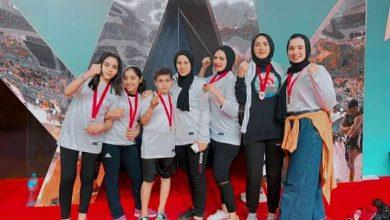 صورة محافظ كفر الشيخ يهنئ الفائزين ببطولة الجمهورية فى الكيك بوكسينج