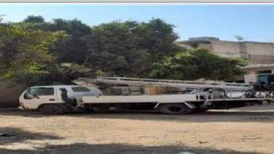 صورة تركيب وصيانة 78 كشاف البرجاية المنيا