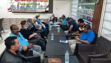 صورة اجتماع ائتلاف القيادات الوطنية الشبابية بالقليوبية