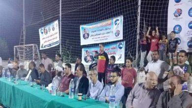 صورة انطلاق دوري مستقبل وطن في نسخته الثالثة بمركز قوص في قنا