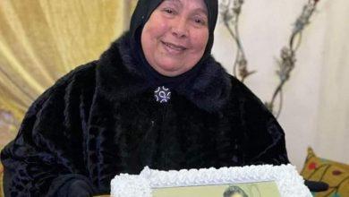 صورة والدة الكابتن أحمد حسن في ذمة الله