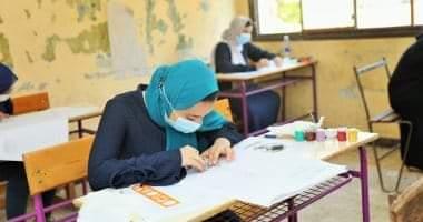 صورة التعليم: 20966 طالبا بالدبلومات أدوا امتحان الدور الثانى وسط إجراءات احترازية