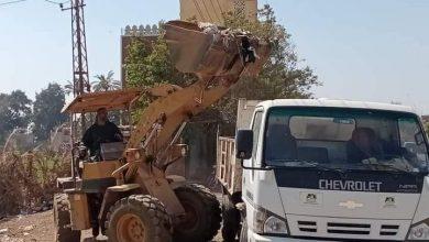 صورة حملات نظافه وصيانة للطرق واعمدة الإنارة بقرى مدينة ديرمواس