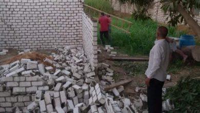 صورة مراكز المنيا تواصل حملات إزالة التعديات على الأراضي الزراعية وأملاك الدولة