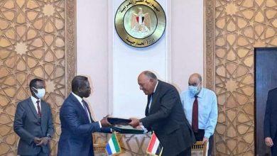 صورة وزير الخارجية سامح شكري يستقبل وزير الخارجية والتعاون الدولي السيراليوني