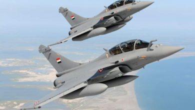 صورة القوات الجوية المصرية والفرنسية تنفذان تدريباً جوياً بمشاركة عدد من الطائرات متعددة المهام 