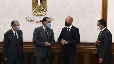 صورة مدبولي يشهد التوقيع علي مذكرة تفاهم مع الشركة الألمانيةسيمنس ووزارة الكهرباء