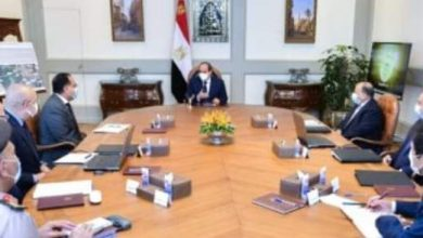 صورة السيسي يتابع تطوير محاور ربط مناطق شرق وغرب القاهرة