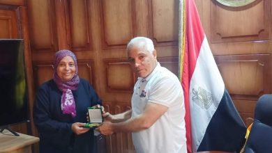 صورة تكريم المشاركين فى حملة استخراج الأوراق الثبوتية بوسط سيناء