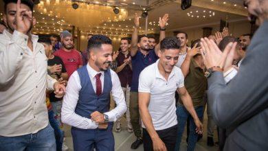 صورة سامي جمال يهنئ ميلاد عاطف بمناسبة حفل زفافه