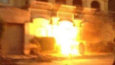 صورة نشوب حريق داخل شقة سكنية ببندر المنيا .. شاهد التفاصيل