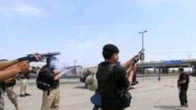 """صورة القوات الباكستانية تشتبك مع محتجين أفغان عند معبر حدودي تغلقه """"طالبان"""""""