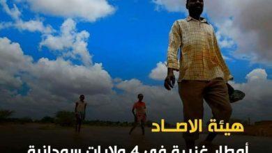صورة السودان .. إنذارات بهطول أمطار غزيرة