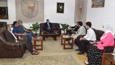 صورة جامعة سوهاج و إنروت للتنمية.. تستعرضان خطة عمل جديدة للمرحلة القادمة