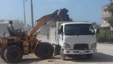 صورة رفع 225 طن قمامة في حملات نظافة مكثفة بقرى شبين الكوم بالمنوفية