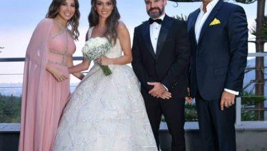 صورة نانسى عجرم تهنئ شقيقها بحفل زفافه وتشارك جمهورها بعدد من الصور