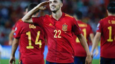 صورة منتخب أسبانيا يحقق فوزاً كبيراً علي نظيرة منتخب جورجيا برباعية نظيفة ضمن تصفيات أروبا المؤهلة لكأس العالم 2022